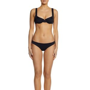 Fella Rick James Bikini Bottom Italian Textured lycra swimwear australia bikini swimwear online